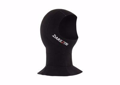 Unisex neoprene hooded neck
