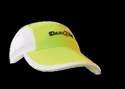 Venti runningcap fluo yellow/white