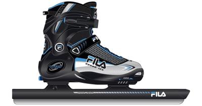 Wizy Ice Speed Combinoor (verstelbaar) Black/silver/light blue