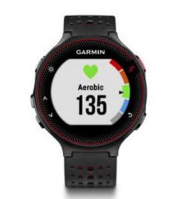 Forerunner 235 black red (incl. wrist heartbeat sensor)