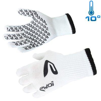 Mid season gloves White