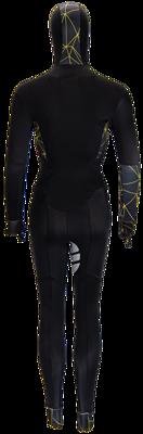 Speedsuit lycra yellow