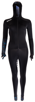Speedsuit Lines Lycra Blue