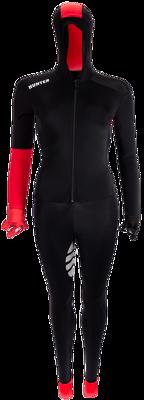 Speedsuit lycra red base
