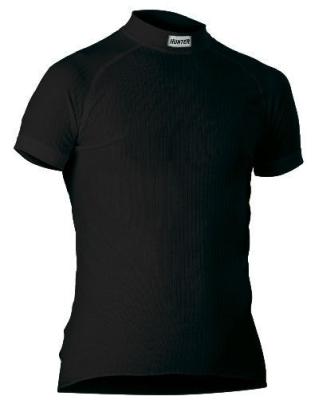 Shirt Korte Mouw zwart