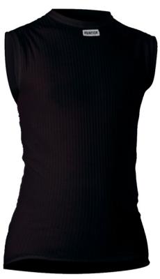 Shirt Mouwloos zwart