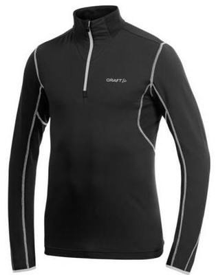 Zip Pullover Bodymapping Olympia blue
