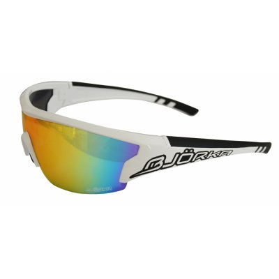 Sunglasses Flash white/black