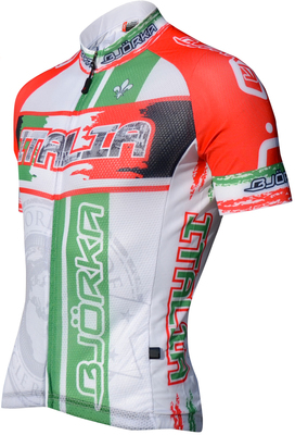 Maillot World Italië Wit