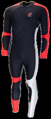 Lycra speedpak black/red/silvergrey