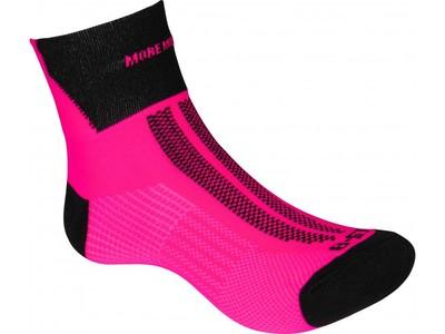 fluo roze lumino lite sokken