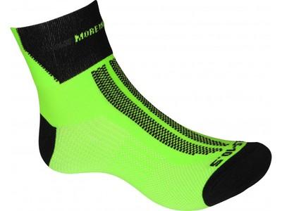 fluo groen lumino lite sokken