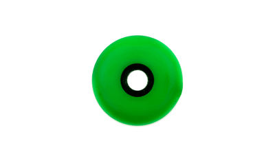 Montagewiel 60mm groen