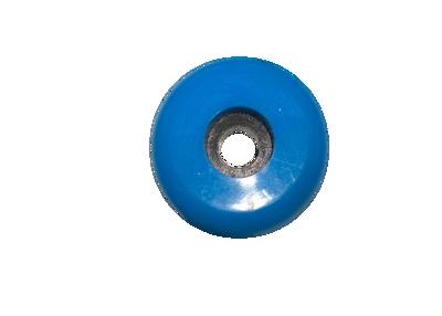 Montagewiel 60mm turquoise