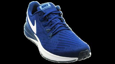 Men's Air Zoom Structure 22 Blue Void/Vast Grey-Gym Blue