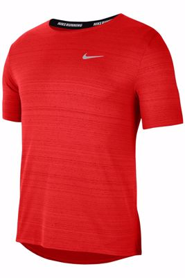 Miler running t-shirt red