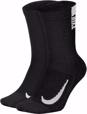 Multiplier No show Socks 2 Pack Black