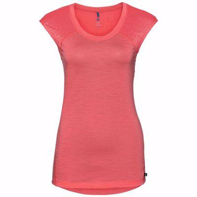 Dames T-Shirt met ronde hals S/S Ceramiwool Light