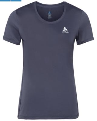 T- shirt dames basislaag top met ronde hals k/m Core Light