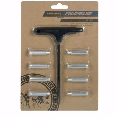 Axes 8 pieces, with torx mounting key