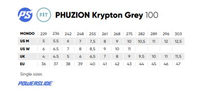 Powerslide Krypton Grey 100