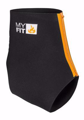 MyFit Footies Heel lock 2mm