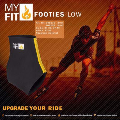 Powerslide MyFit Footies Laag 2mm