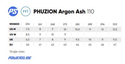 Powerslide Phuzion Argon Ash 110
