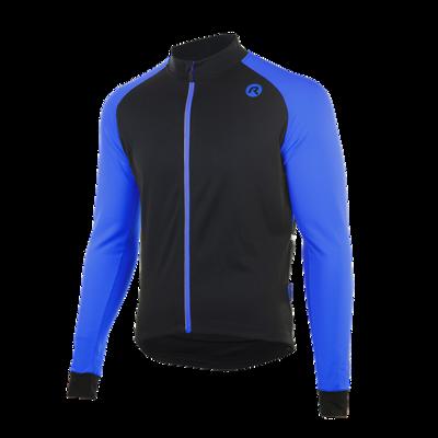 Caluso 2.0 Fiets/schaatsshirt zwart/blauw