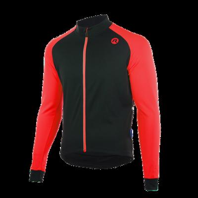 Caluso 2.0 Fiets/schaatsshirt zwart/rood