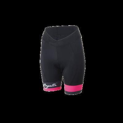 dames cycling short Select zwart-roze