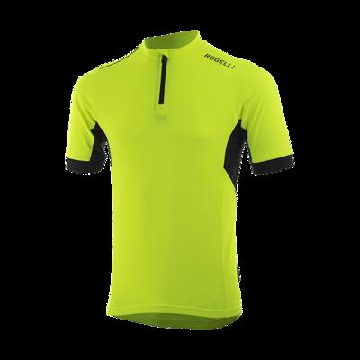 Fietsshirt Perugia 2.0 fluor geel