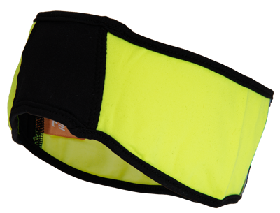 hale headband black/fluor geel