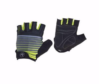 Hero gloves black/fluor geel