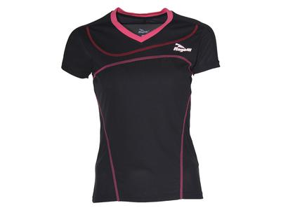 Miral Running T-shirt Dames Black/Rose