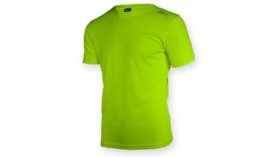 Promo Running shirt Fluo Geel