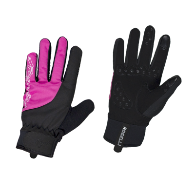 gant d'hiver Storm Noir/rose