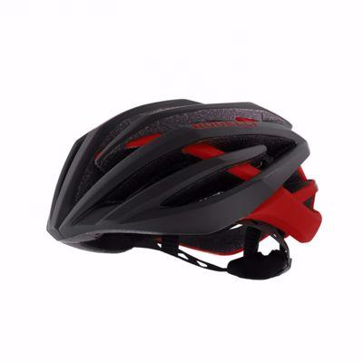 Tecta Cycling Helmet zwart/rood
