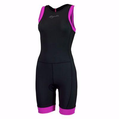 Triathlon Suit Taupo ladies black/pink