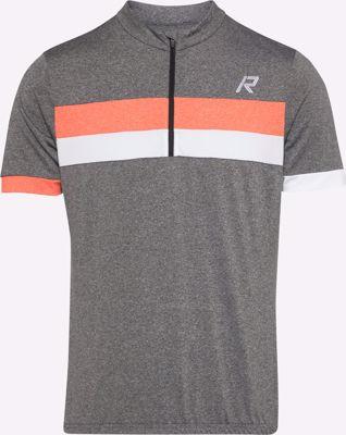 Rago fietsshirt grey orange