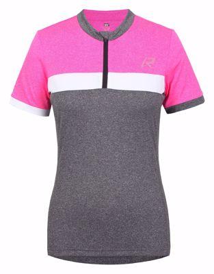 Raskog fietsshirt women grey pink