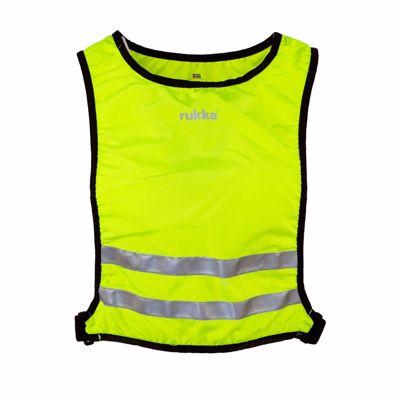 Reflectie vest Utriala neon yellow