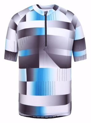 Rosund cycling SS shirt white/blue/grey