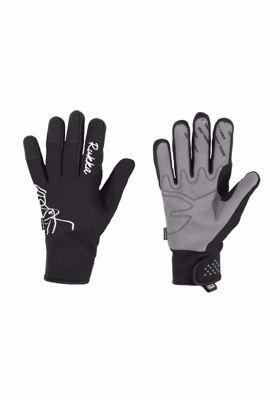 Snowflake glove black
