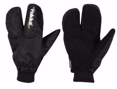Split Finger glove black
