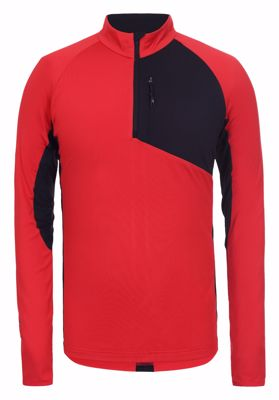 Tornio Thermo Zipper Longsleeve Red