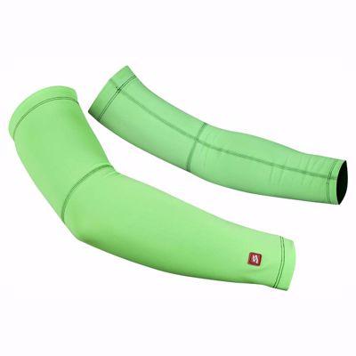 Zomer armwarmers fluor green