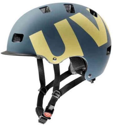 HLMT 5 bike pro blue/yellow