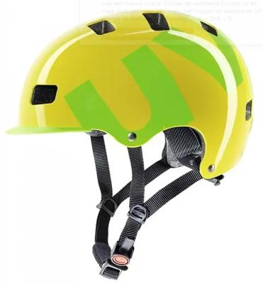 HLMT 5 bike pro yellow green