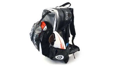 Skate Backpack waterproof Black/White